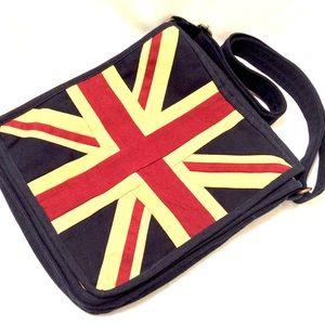 Union-Jack Cross Body Messenger Bag
